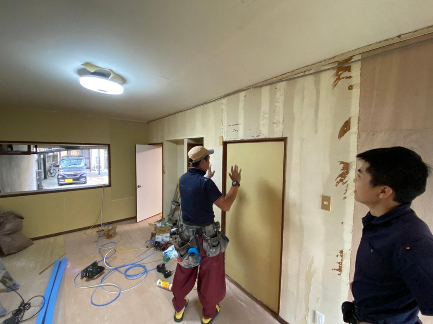 戸建て住宅 改装工事