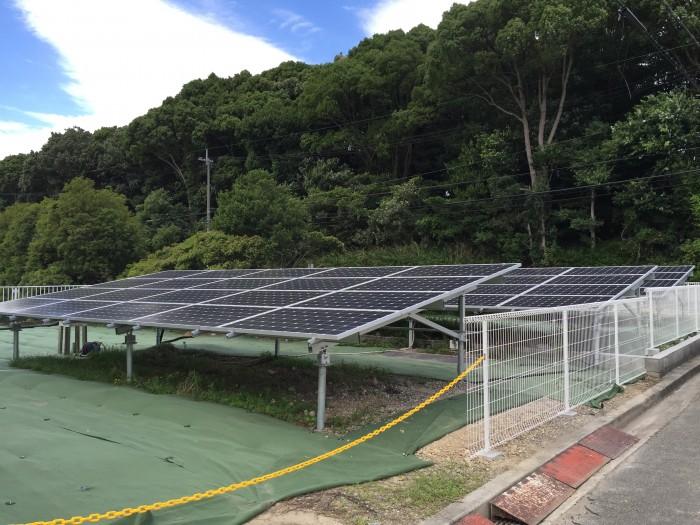 太陽光設置工事(加古川 設置前工事)