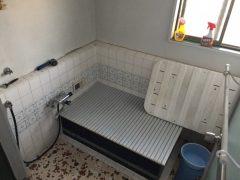 タイルの風呂→ユニットバスへ
