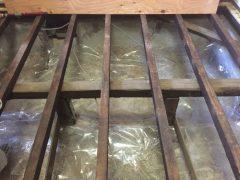 床の新調 流し台新設 玄関扉交換