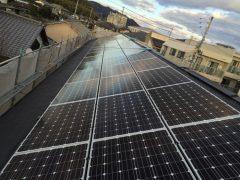 姫路 ハイツ屋根 太陽光設置