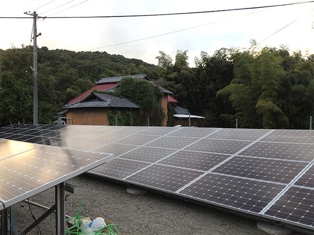 太陽光発電システム 施工